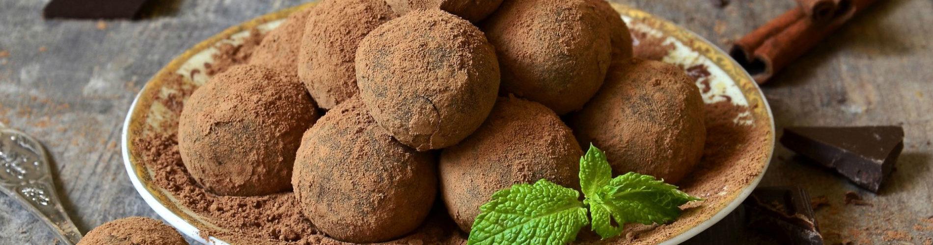 Рецепт трюфелей в шоколаде для сувида