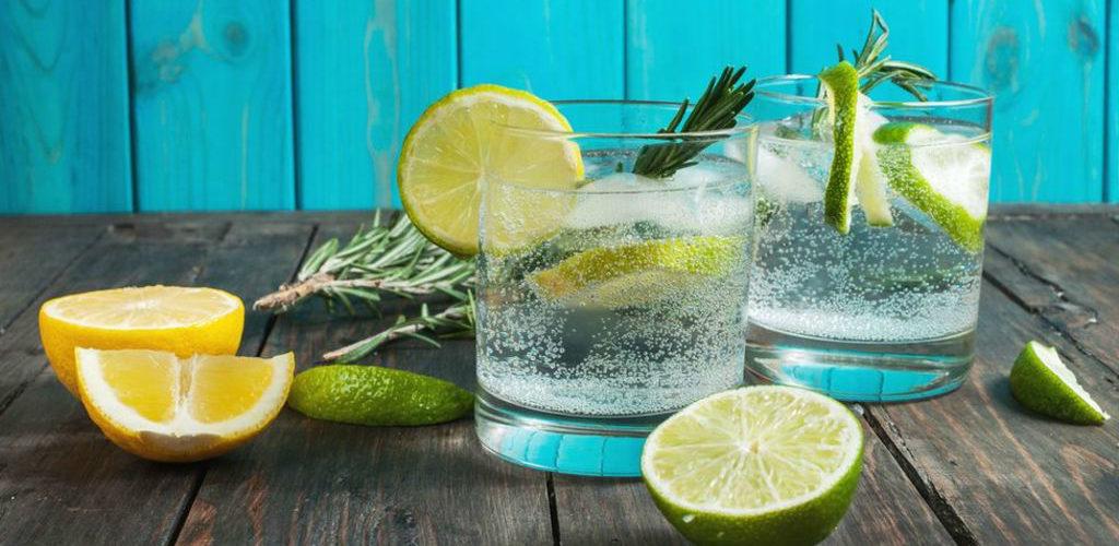 Cу-вид джин с розмарином и цитрусами