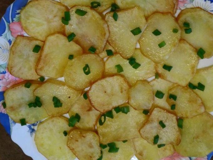золотистая картошечка сувид