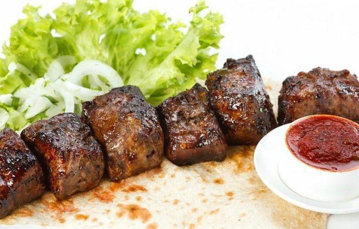 шашлык из свинины сувид