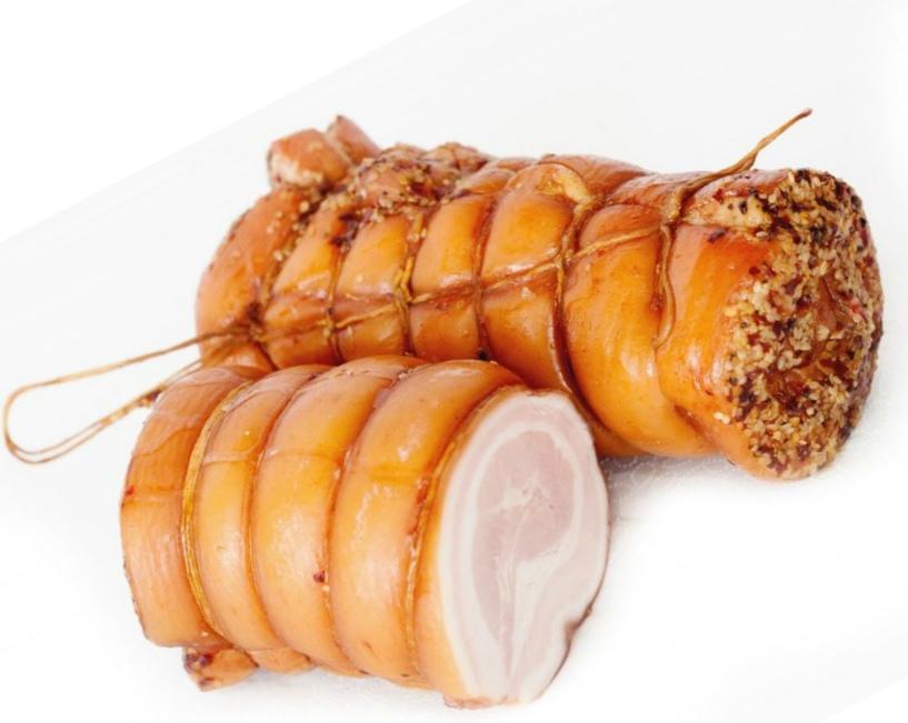 нежный рулет из свинины